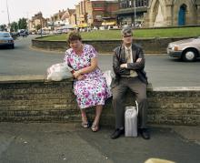 "Skegness, England, 1992 Aus der Serie ""Bored Couples"" © Martin Parr / Magnum Photos"